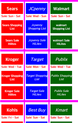 Weekly Sales Ads 50+ Stores