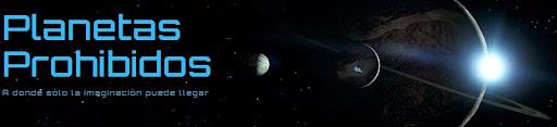 P�gina de inicio de Planetas Prohibidos