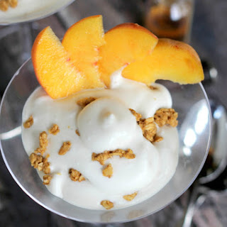 Boozy Peaches and Cream Parfait Recipe