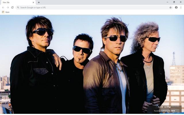 Jon Bon Jovi New Tab & Wallpapers Collection