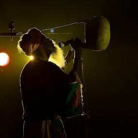 Arjun Khyapa Performing... by Rathin Halder - People Professional People