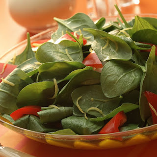 Spinach Salad with BACARDI® Limón™.