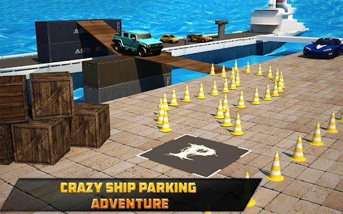 Street Prado Car Parking 3D- screenshot thumbnail