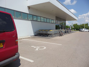 Photo: Parking for handicapped near supermarkets.