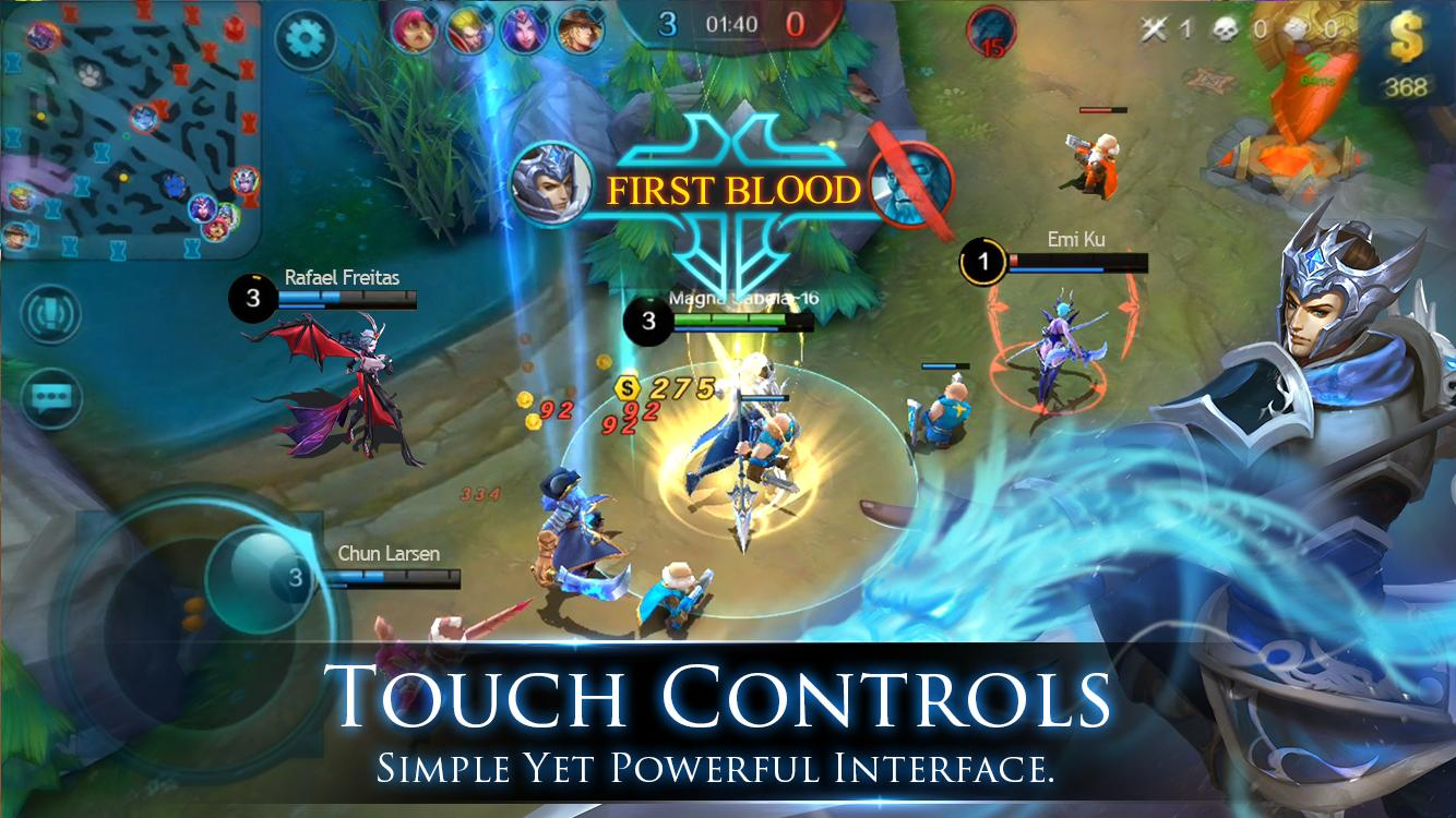 Screenshots of Mobile Legends: Bang bang for iPhone