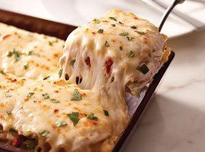 Creamy Chicken Or Turkey Lasagna With Artichoke Recipe