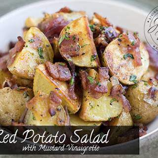 Red Potato Salad with Mustard Vinaigrette