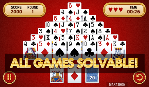 Pyramid Solitaire Challenge  screenshots 1