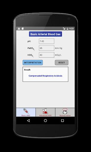 Arterial Blood Gas Pro