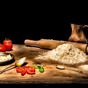 Ready for Pizza? by Giorgio Baruffi - Artistic Objects Still Life ( pwcstilllife )