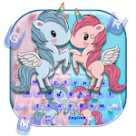 Unicorn Cartoon Keyboard