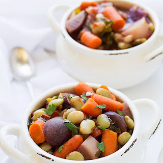 Rainbow Veggie Soup