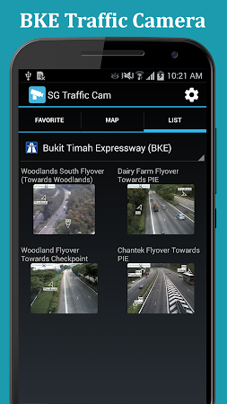 SG Traffic: Real Time Cameras 1.0.8 screenshot 1092853