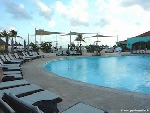 Photo: #011-La piscine du Club Med Cancún Yucatán.