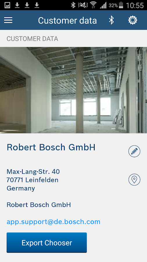 Bosch MeasureOn- screenshot