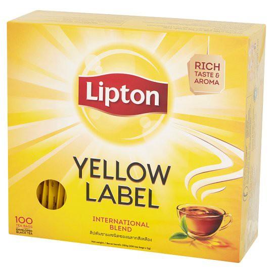 3. ชาLipton Yellow Label Tea