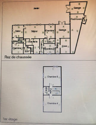 Vente ferme 8 pièces 270 m2