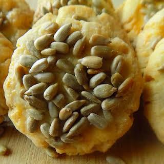 Savory Sunflower Seed Cookies.