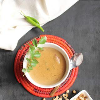 Peanut Curry | Shengdanyachi Amti