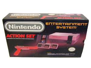 Nintendo Action Set inkl Konsol, 2 Handkontroller, SMB/ Duck Hunt, Zapper