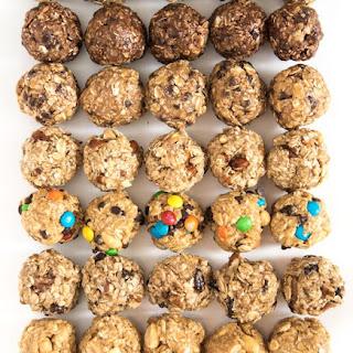 Monster Cookie No-Bake Oatmeal Energy Balls Recipe