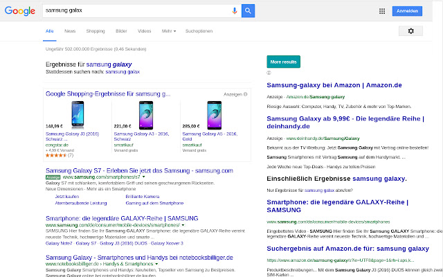 datamints Google Search Extender