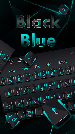 Black Blue Light Keyboard 10001007 screenshots 2