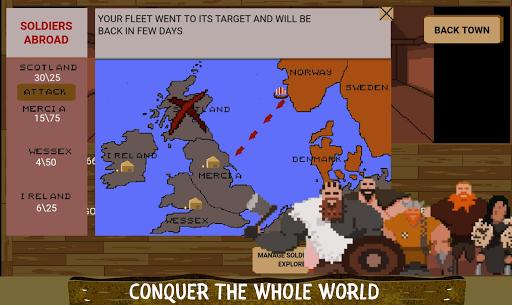 Télécharger The Last Vikings Kingdom: City Builder apk mod screenshots 1