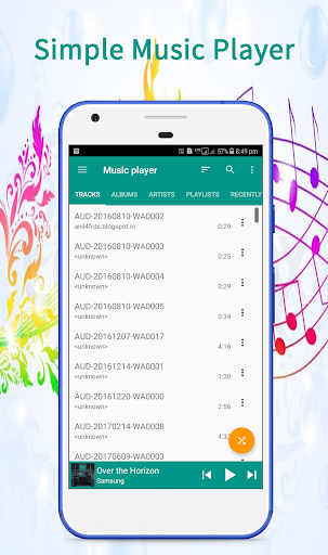 Music Player - screenshot
