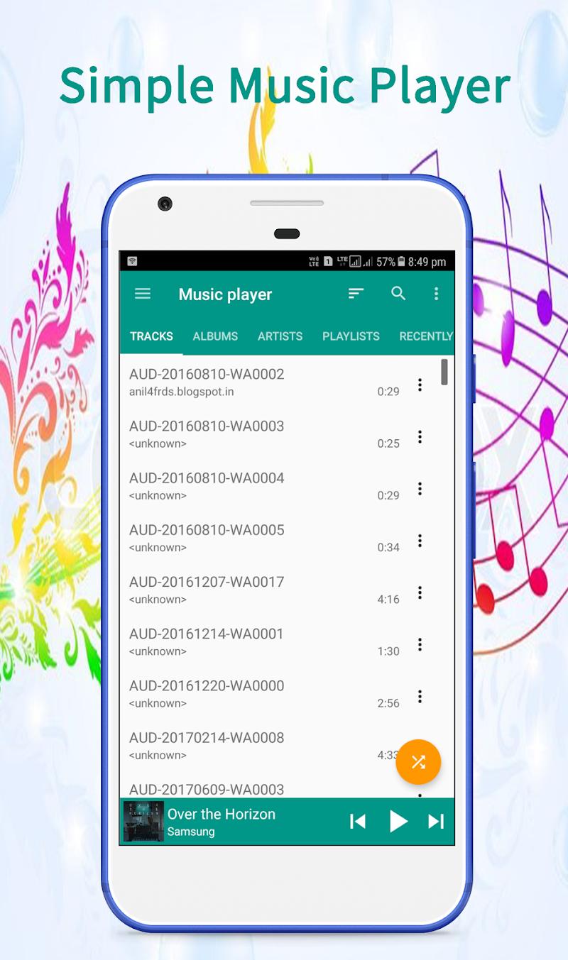 Music Player Screenshot 0