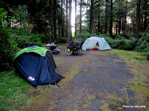Photo: (Year 2) Day 353 - Our Camp in the County Park of Bastendrof Beach, Just Outside Charleston