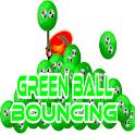 Green Ball Bouncing icon