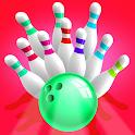 Super 3D Mini Bowling Board Game icon