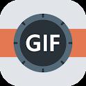 GIF Camera HD (Best GIF Maker & Creator Free) icon