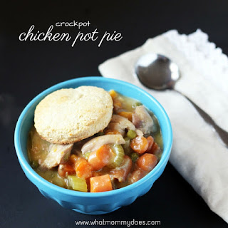 Crockpot Chicken Pot Pie.