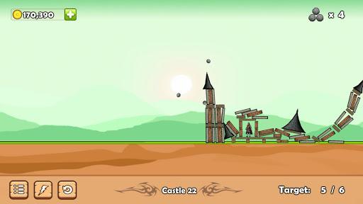 Télécharger Castle Down: Siege of the Catapult APK MOD (Astuce) screenshots 2