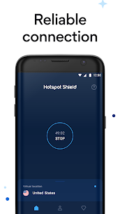Hotspot Shield Free VPN Proxy & Secure VPN MOD (Elite) 4