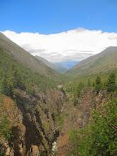 Photo: В верховьях Шумака. Вид вниз по долине
