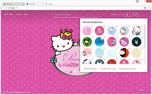 Hello Kitty Wallpapers Hd New Tab Themes