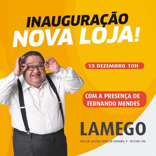 Fernando Mendes em Lamego