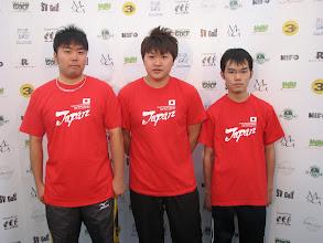 Photo: Japan. Fuminori Itoh, Kazuya Sato and Takayuki Kanai. (Photo: Bengt Svensson)