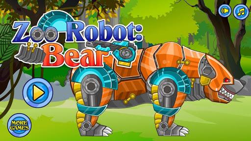 スナップ機械熊:機械の動物園シリーズ——パズルの小さいゲーム