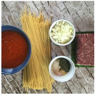 One-Pot Meat Spaghetti