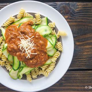 Zucchini and Turkey Bolognese Recipe