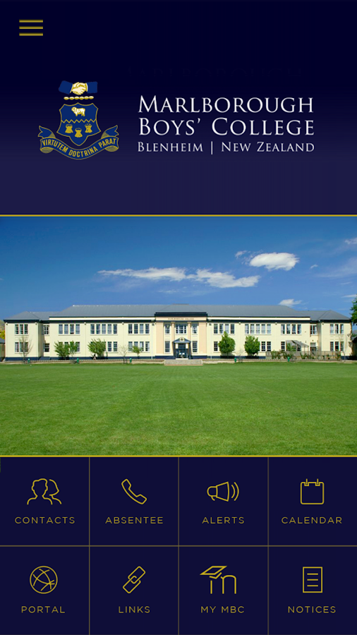 Marlborough Boys' College- screenshot