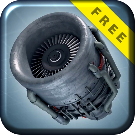 Turbo Jet Engine 3D Live Wallp