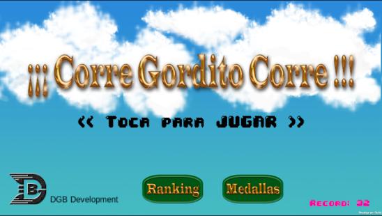 Corre Gordito Corre - náhled