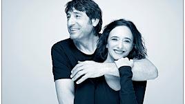 Carmelo Gómez y Ana Torrent, dos actorazos este viernes en Almería.