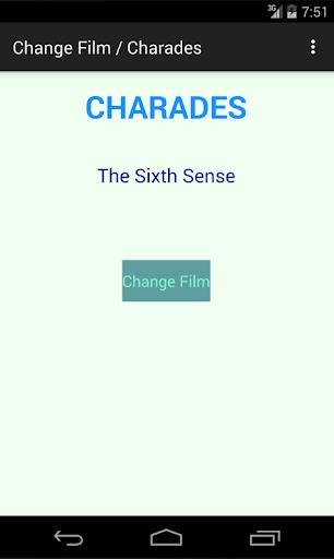 Change Film Charades