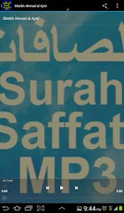 Surah As Saffat سورة الصافات - náhled